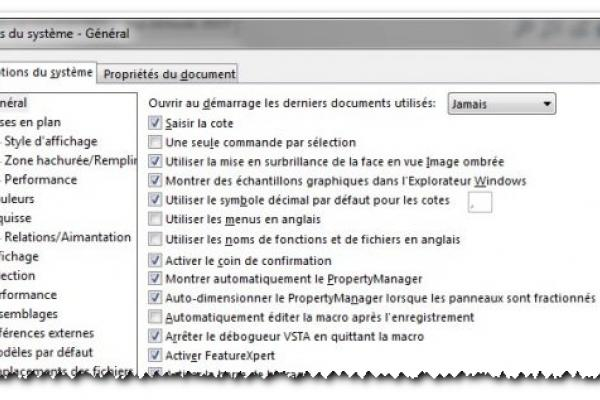 Comment configurer SOLIDWORKS ?