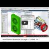 barre de blocage sous SolidWorks